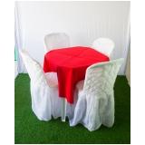 quanto custa locação de mesa e cadeira Jardim das Belezas