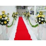 quanto custa locação de tapete para casamento Vila Municipal