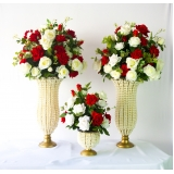 quanto custa locação de vasos para casamento Vila Cretti
